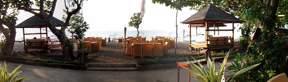 Starlight Bali Beach Restaurant and Bungalows in North Bali